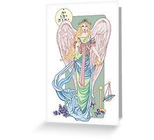 Temperance Tarot Card Greeting Card