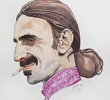 The Grand Wazoo : Frank Zappa by threefishes