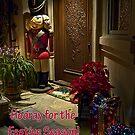 Home for Christmas - card by Celeste Mookherjee