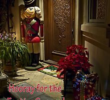 Home for Christmas - card by Celeste Mookherjee