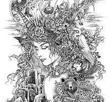 Gaia Dreams of Earth by LKBurke29