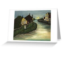Living By The Water Greeting Card