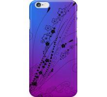 Purple Sakura iPhone Case/Skin
