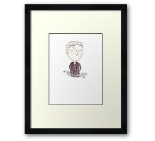 Doctor Who - Kidneys! Framed Print