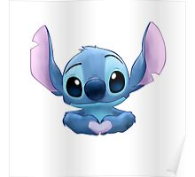 Stitch Heart Poster