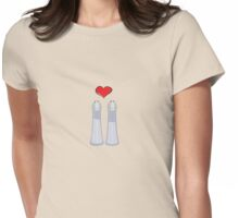 Salt Shakers Womens Fitted T-Shirt