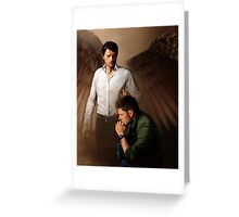 Angels are Watching Over You Greeting Card