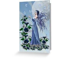 The Blue fae Greeting Card
