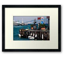 Marina Grande Framed Print
