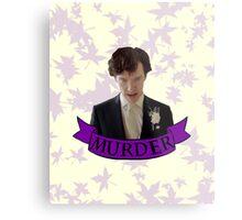 """""""Let's play murder"""" Metal Print"""