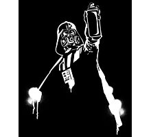 Darth Vader Graffiti Photographic Print