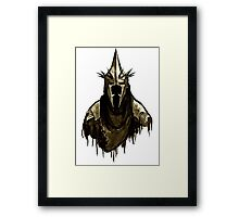 Witch King Framed Print