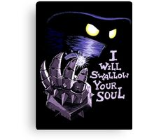 The Power of Evil Canvas Print