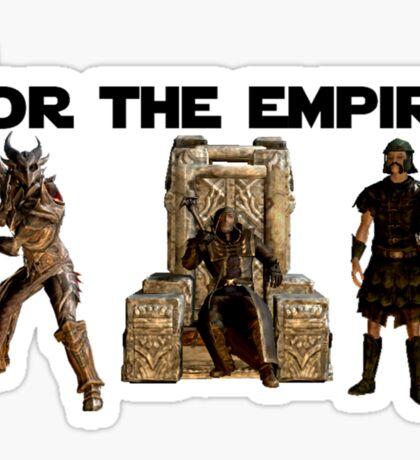For the Empire Sticker