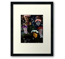 Sherlock in season three Framed Print