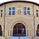 Stanford Univeristy History Building by Martha Sherman