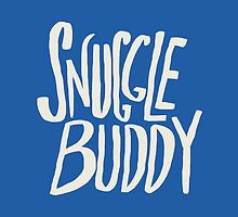 Snuggle Buddy x Blue by Leah Flores