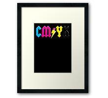 Hard Rock'n Design Framed Print