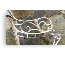 Wrought Arm Metal Print