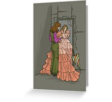 The Shindig Dress Greeting Card