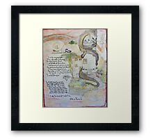 TWELVE CHARTS OF THE CHINESE HOROSCOPE Framed Print