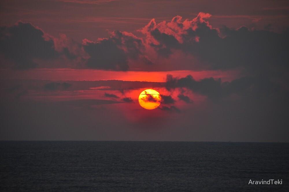 Sunset time by AravindTeki