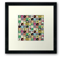 hip hip geek Framed Print
