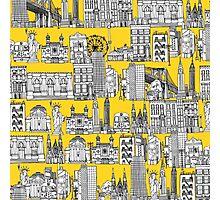 New York yellow Photographic Print