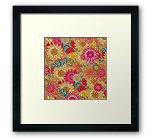 sunshine garden Framed Print
