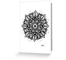 Mandala. Greeting Card