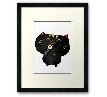 Sushi Cat Framed Print