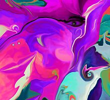 Abstract 51- wall art + Clothing+Products Design by haya1812