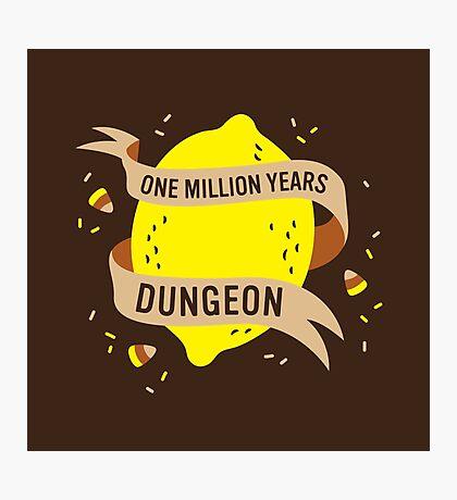One Million Years Dungeon Photographic Print