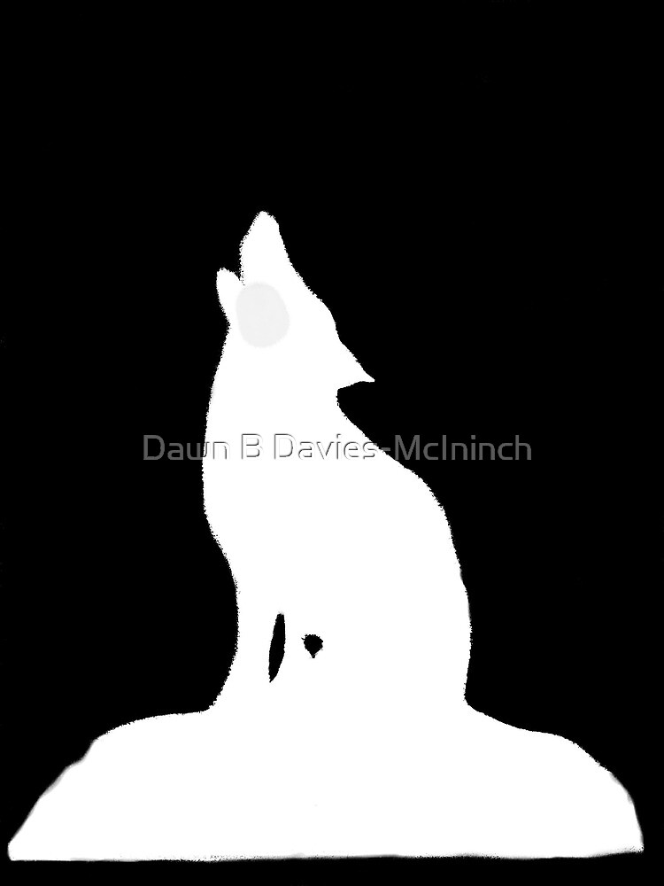 Night Wolf by Dawn B Davies-McIninch