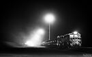 The First Train ~ Perenjori Railyard by Pene Stevens