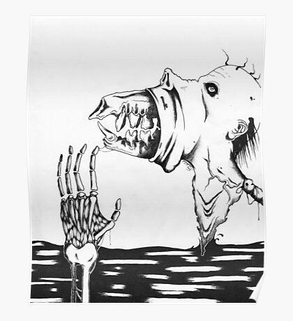 Discharging The Monster Poster