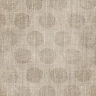 Poka dot burlap (Hessian series 2 of 3) by John Medbury (LAZY J Studios)