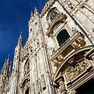 Duomo Milan. by Malcolm Clark