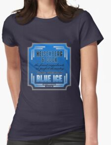 Blue Ice (Breaking Bad) Womens Fitted T-Shirt