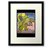 My Harborage Goes With Me Framed Print