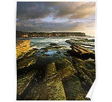 """Cliff to Cliff"" ∞ Little Bay, NSW - Australia Poster"