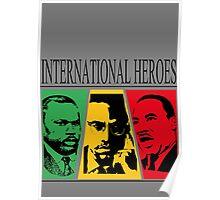 INTERNATIONAL HEROES Poster