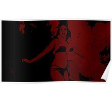 Santanico Pandemonium (blood red) Poster