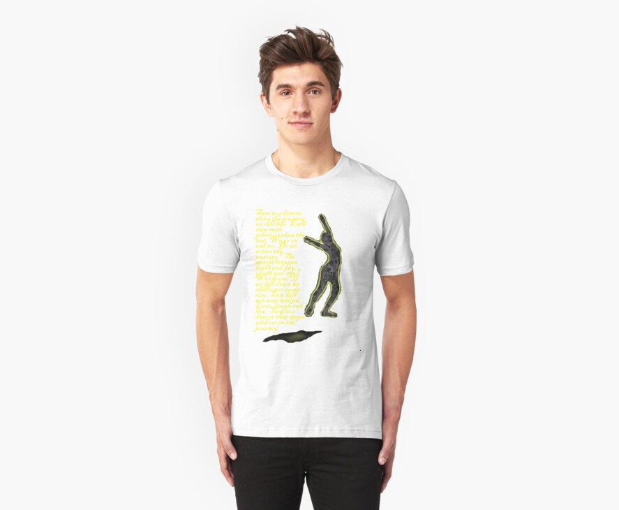Time is a Dancer Tee by Alison Pearce