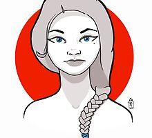 Girl in Red by Dominik Gottherr