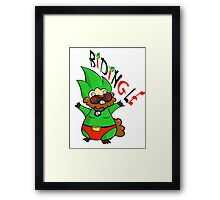 Bidingle! Framed Print