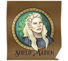 Lagertha - Shield Maiden Poster