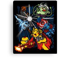Avengermon! Canvas Print