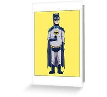 BatHank Greeting Card