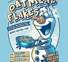Olaf's Hot Oatmeal Flakes by Gilles Bone